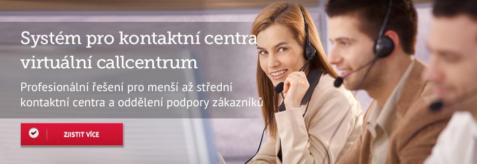 Systém pro kontaktní centra virtuální callcentrum
