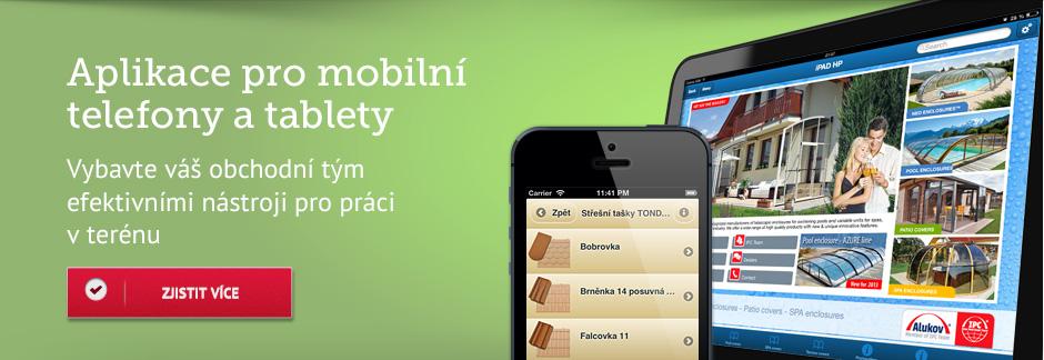 Aplikace pro mobilní telefony a tablety