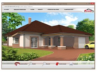 Klinker dům 3D